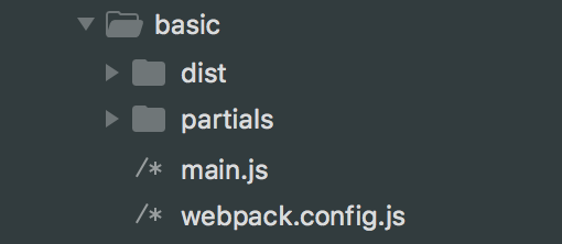 Partial directory setup